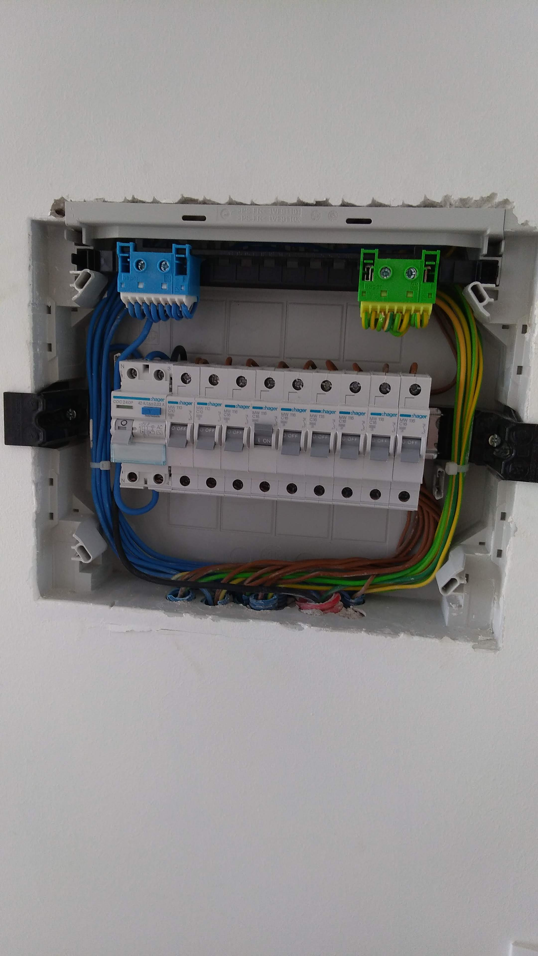 Electrical board Restoration in Housing